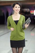 供应2013春季女装新款羊毛衫开衫
