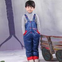 反季2012俏皮蛙正品儿童羽绒裤