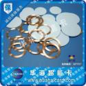 透明PVC圆币卡图片