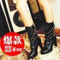 女靴女鞋单鞋秋冬女靴批发代理多款图片