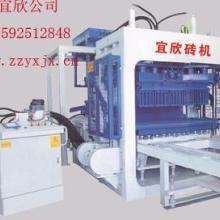 供应苏州液压全自动空心砌块砖机/空心砌块成型设备价格YX图片