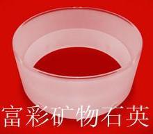 供应石英法兰石英隔热罩 -连云港东海富彩矿物石英制品公司生产加工定制图片