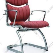 金属电镀弓形椅环保西皮椅会议椅图片