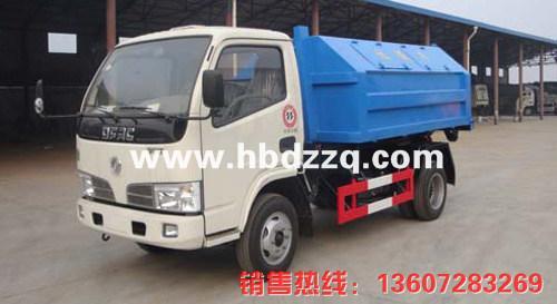 供应广西东风金霸拉臂式垃圾车图片