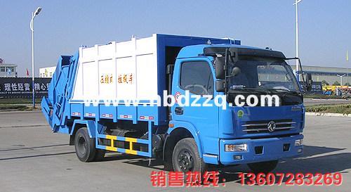 供应东风多利卡压缩式垃圾车图片