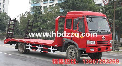 供应承德解放J5低平板运输车图片