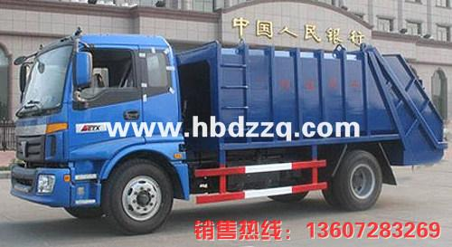 供应广东欧曼压缩式垃圾车图片