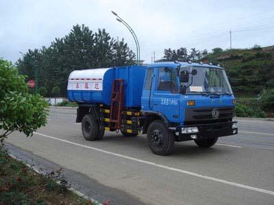 供应湖北随州东风153自卸式垃圾车图片