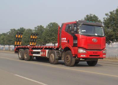 供应解放J6大型平板运输车图片