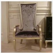 上海高弹绵优质布艺新古典餐椅图片