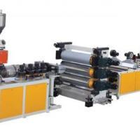 供应上海金纬PVC透明软/硬片生产线