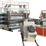供应PP+木粉/PP+麻纤维板材生产线--金纬片板设备