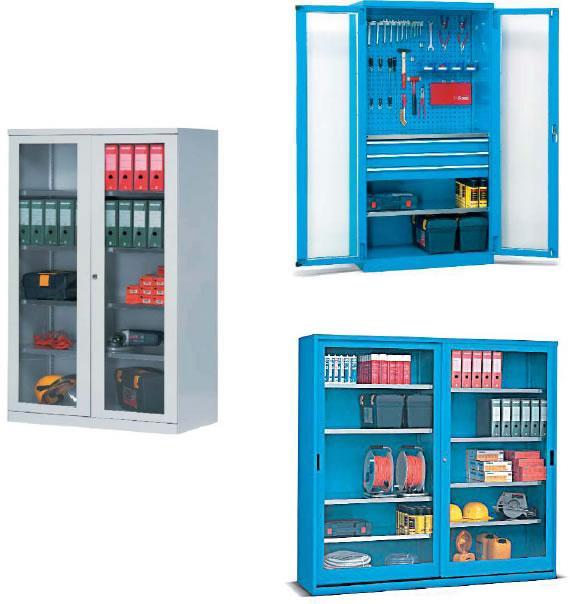 供应玻璃门置物柜