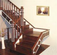 供应高雅华贵线条流畅弧形实木楼梯批发
