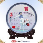 订制陶瓷赏盘厂精品手绘陶瓷盘图片