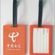 滴胶logo行李牌PVC硅胶材质广东图片