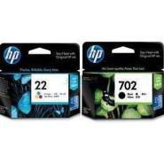 供应原装惠普HP702墨盒黑色HP22墨盒