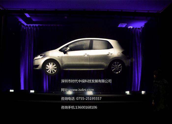 深圳幻影成像膜 全息成像技术 360°全息成像投影