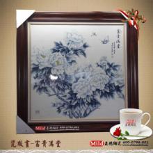 供应陶瓷瓷板画江西瓷板画定制 陶瓷工艺画 景德镇瓷板画价格