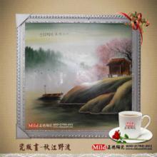 供应陶瓷订做瓷板画新年礼品瓷板画 手绘瓷板画 瓷板画定做 陶瓷工艺画