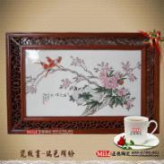 江西陶瓷瓷板画图片
