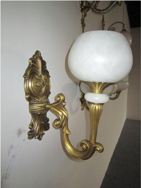 供应欧式铜灯为主要流行趋势〈质感、美观、具有一定收藏价值〉