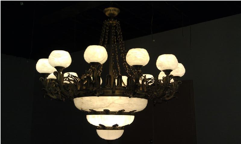 供应美式云石造型吊灯