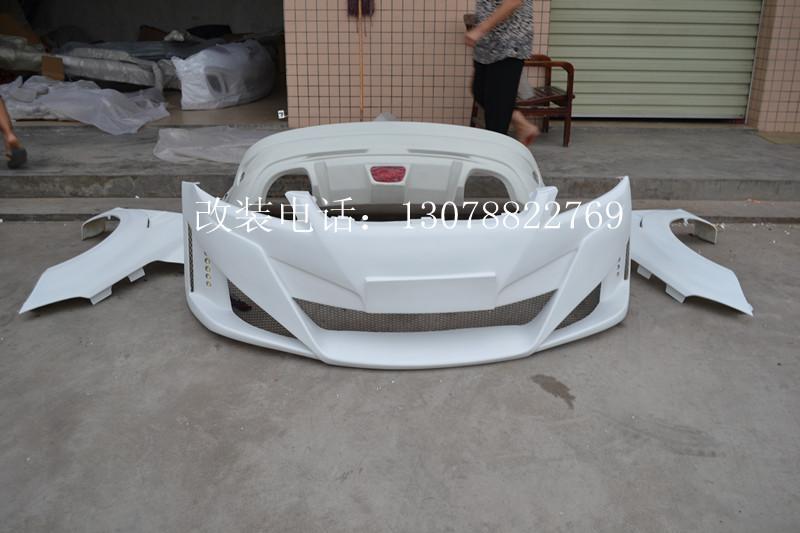 福克斯两厢改装样板图 福克斯两厢改装 新征途汽车改装厂高清图片