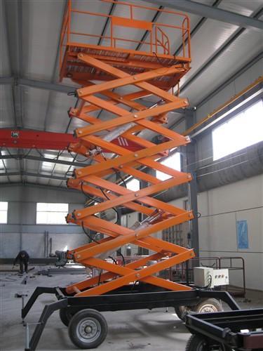 供应移动剪叉式升降机械,移动剪叉式升降机