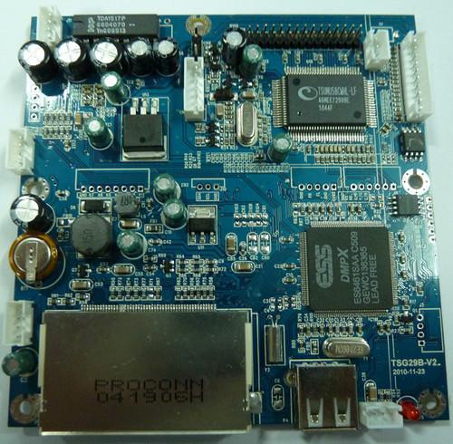 解码板图片 解码板样板图 广告机高清一体解码板TSG29 深...