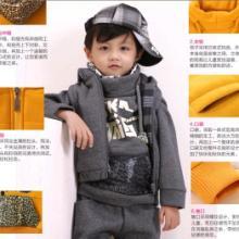 正品男女童通用适合套装2012冬款加厚时尚三件套韩版儿童套装批发