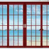 佛山钛镁铝合金门厂家,高端订制铝合金门窗,钛镁铝合金平开门