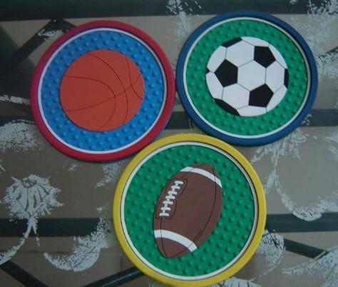 供应PVC软胶杯垫,杯垫,卡通杯垫,礼品杯垫