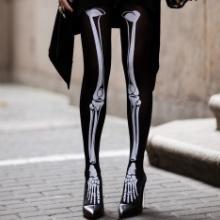 骷髅骨头连裤袜