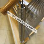 供应爱尔兰银行专用冲孔网楼梯扶手,冲孔网座椅,