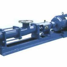 供应G型不锈钢单螺杆泵 (污泥)