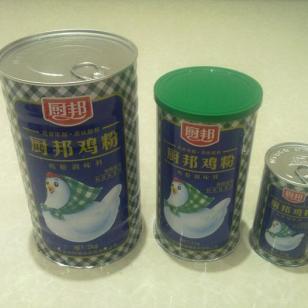 厨邦鸡粉罐焊接罐食品易拉罐图片