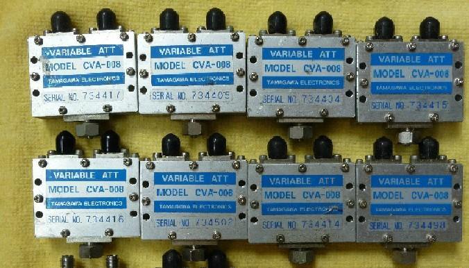 衰减器图片 衰减器样板图 CVA 008手动手调连续可变衰减...