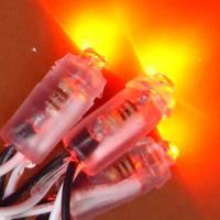 供应LED冲孔灯、LED草帽单色外露灯、LED冲孔字招牌单色外露灯串