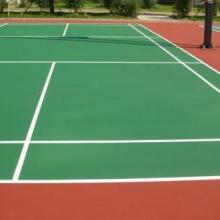 供应无锡塑胶网球场施工价格