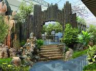 庭院设计百年古树别墅绿化施工图片