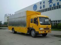 供应白鸟牌HXC5120XWT1型流动舞台车批发