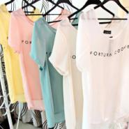 夏季纯棉短袖T恤图片