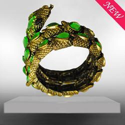 时尚蛇形复古手链图片