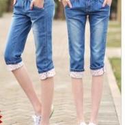 外贸订单牛仔裤图片