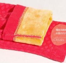 厂家直销黄金甲保暖内衣棉质不起球便宜加绒超厚男女款保暖内衣批发图片