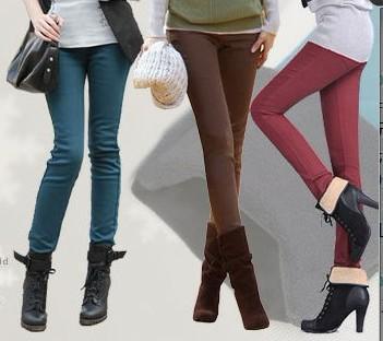 女装时尚牛仔裤批发加绒图片/女装时尚牛仔裤批发加绒样板图 (1)