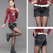 韩版牛仔裤图片