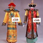 上海清朝皇帝皇后服装出租清朝服装图片