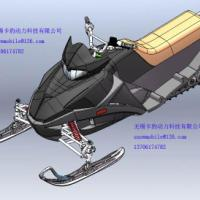 320CC雪地摩托车滑雪车